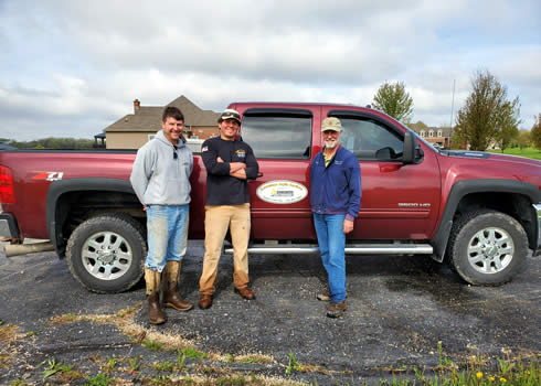 Lance, Logan and Roger - 70 Years Soil Testing Experience Jefferson, Racine, Walworth, Waukesha