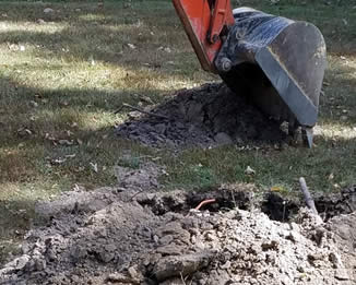 Septic System Soil Testing in and near Wales
